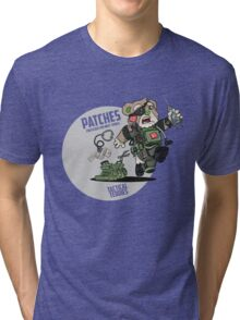 PATCHES (OD Green) Tri-blend T-Shirt