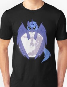Luna wrapped around the moon Unisex T-Shirt