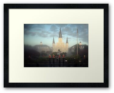 Jackson Square and the St Louis Cathedral by Alfonso Bresciani