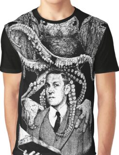 Lovecraft & Cthulhu Graphic T-Shirt