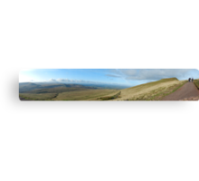 The Road to Pen Y Fan Canvas Print
