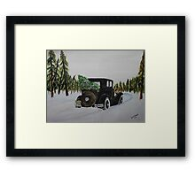 Home Bound Framed Print