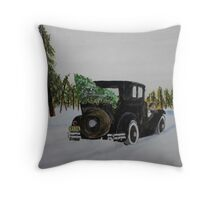 Home Bound Throw Pillow