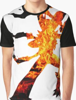 Mega Blaziken used Blast Burn Graphic T-Shirt