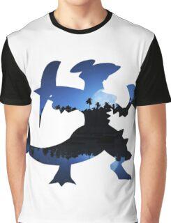 Mega Garchomp used Night Slash Graphic T-Shirt