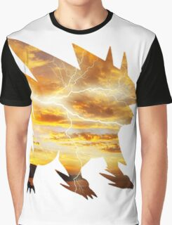 Mega Manectric Thunder Wave Graphic T-Shirt