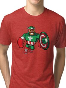 Captain Mexico Tri-blend T-Shirt
