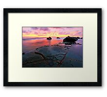 Shine into dark # 2 Framed Print