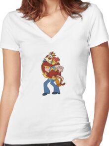 M-M-M-Mum-ra Women's Fitted V-Neck T-Shirt