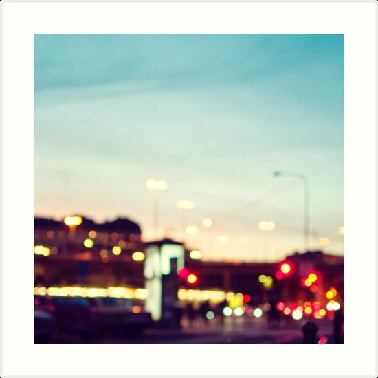 Stockholm Bokeh by mariakallin
