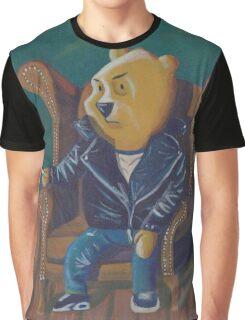 Smoking Winnie The Pooh Graphic T-Shirt