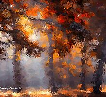 Cool Autumn Days by Bunny Clarke