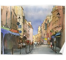 Latin Quarter, Paris Poster