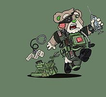 PATCHES (OD Green) by hiwez