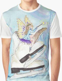 Glacier Skating Fairy Graphic T-Shirt