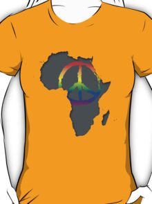 Peace in Africa T-Shirt T-Shirt