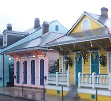 Shotgun Houses - New Orleans by Alfonso Bresciani