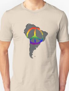 Peace in South America T-Shirt Unisex T-Shirt