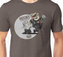 PATCHES (Black) Unisex T-Shirt