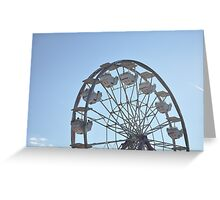 You Spin me Right Round Greeting Card