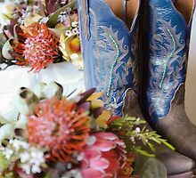 Cowgirl Boots and Native Flowers 2 by jenenever