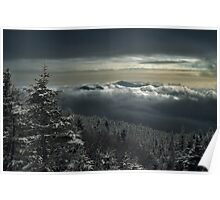 View to Mount Washington in New Hampshire 1 Poster