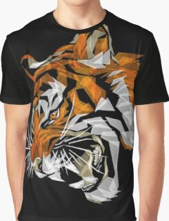 Growling Tiger Graphic T-Shirt