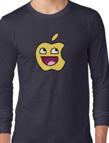 Happy apple Long Sleeve T-Shirt