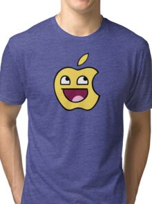 Happy apple Tri-blend T-Shirt