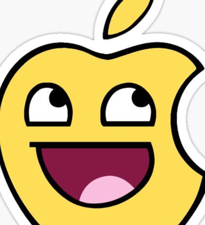 Happy apple Sticker