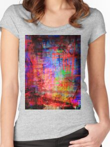 the city 46 Women's Fitted Scoop T-Shirt