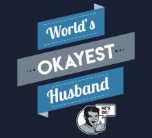 World's Okayest Husband | Funny Husband Gift Baby Tee