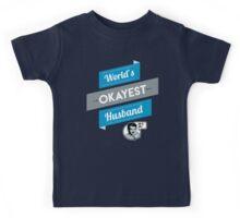 World's Okayest Husband | Funny Husband Gift Kids Tee