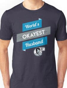 World's Okayest Husband | Funny Husband Gift T-Shirt