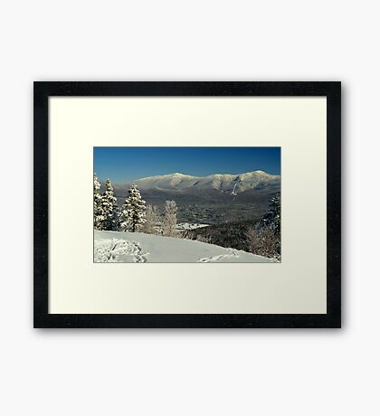 View to Mount Washington in New Hampshire 2 Framed Print