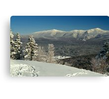 View to Mount Washington in New Hampshire 2 Canvas Print