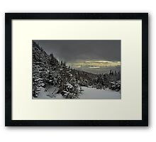 View from summit of Bretton woods ski area 4 Framed Print