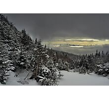 View from summit of Bretton woods ski area 4 Photographic Print