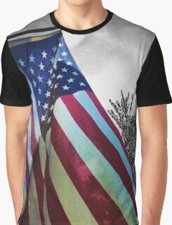 Home of the Free Graphic T-Shirt