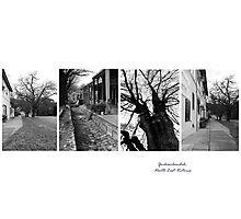 Yackandandah Streetscape - montage N E Victoria Photographic Print