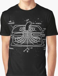 Cosmic Wormhole Graphic T-Shirt