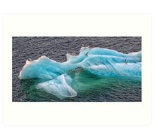 Frozen Landing Pad Art Print