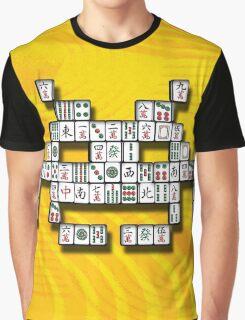 Mahjong Invader Graphic T-Shirt