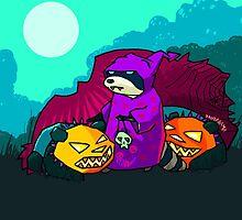 Pandarama - Halloween by Antbear