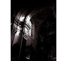 a ray of light in mariahilferkirche Photographic Print