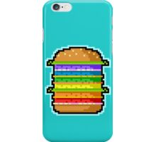 Pixel Hamburger iPhone Case/Skin