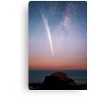 Morning Comet meets the Cape Canvas Print