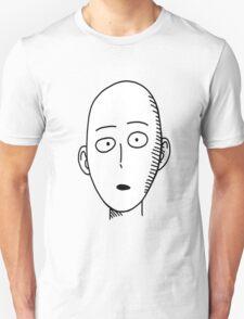 One punch man: Saitama Funny Face T-Shirt