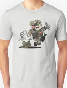 PATCHES (Tan) Unisex T-Shirt