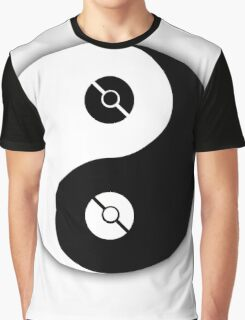 Pokemon Yin Yang Graphic T-Shirt